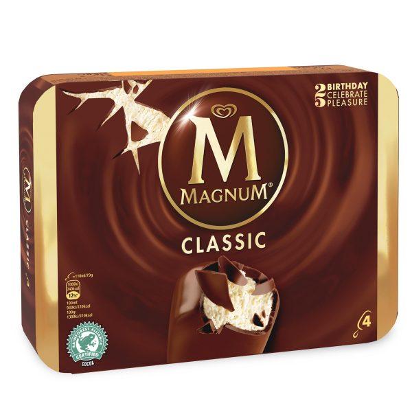 Magnum classico 4 pezzi 316g Algida
