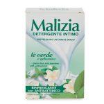 Detergente intimo tè verde e gelsomino rinfrescante con atibatterico 200ml Malizia