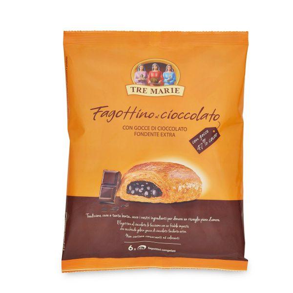 Pain au Chocolat con gocce di cioccolato fondente extra 390g Tre Marie