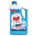 Detergente per vetri antipolvere con antibatterico 5 litri Dual Power