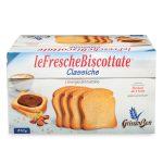 Fette biscottate classiche bauletto 26 porzioni da 4 fette olio di girasole 810g Grissin Bon