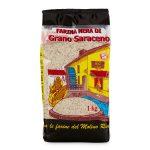 Farina nera di grano saraceno 1Kg Molino Riva