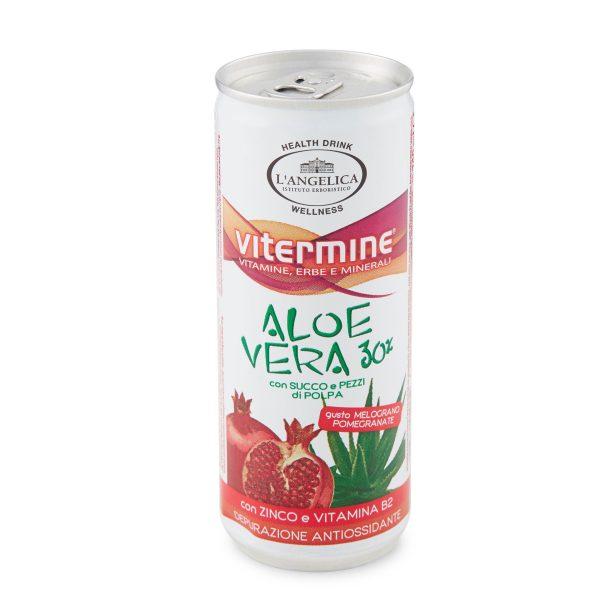 Aloe melograno lattina 240ml Angelica