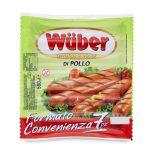 Wurstel di pollo formato convenienza 500g Wuber