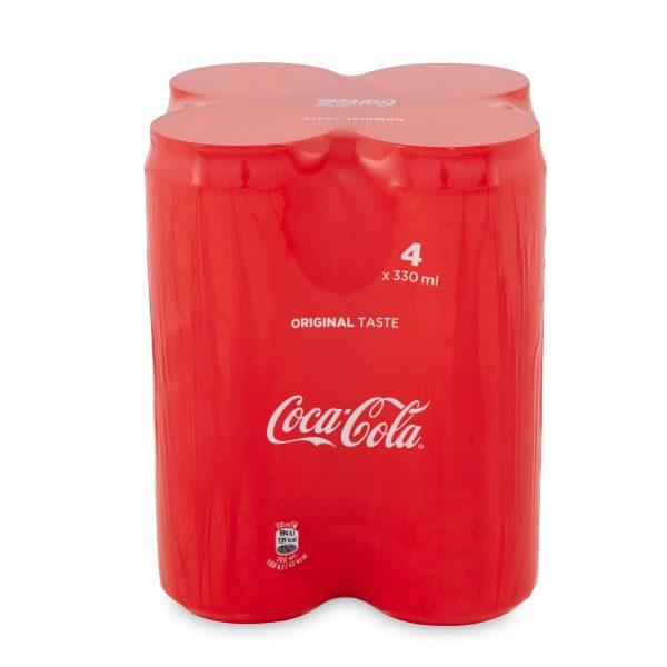 Coca cola lattina 33clx4