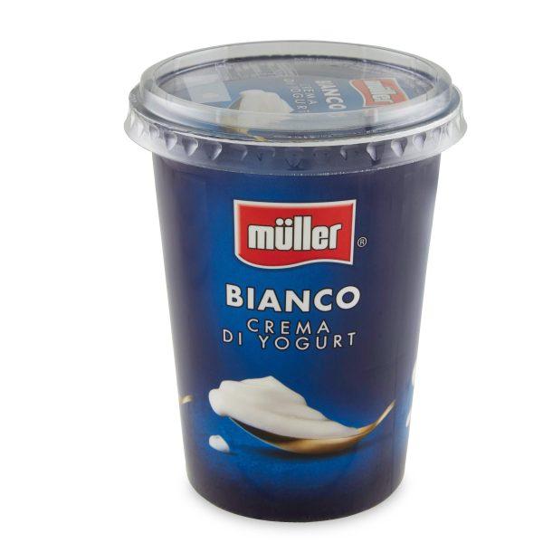 Crema di yogurt bianco 500g Muller