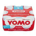 Yogurt intero bianco naturale 4x125g Yomo