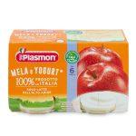 Yogurt mela 2x120g Plasmon