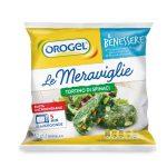 Tortino agli spinaci 240g Le Meraviglie Orogel