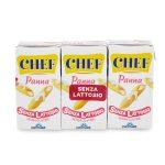 Panna chef senza lattosio 3x125ml Parmalat
