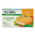 Cotolette vegetale 2 pezzi 200g Valsoia