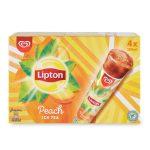 Calippo Lipton tè alla pesca, 4 pezzi, 420g