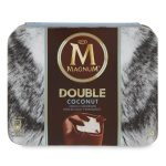 Magnum double cocco 292g 4 pezzi Algida