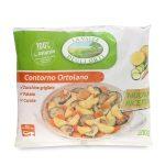 Contorno ortolano con patate, carote e zucchine   grigliate 400g La Valle Degli Orti