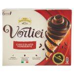 Coni vortici al cacao 6 pezzi 420g Fronery