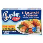 Bastoncini di salmone con panatura croccante      8 pezzi Findus 200g