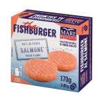 Fishburger di salmone 170g Mare Pronto