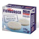 Fishburger di baccalà 170g Mare Pronto