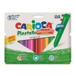 12 pastelli triangolari Jumbo Carioca