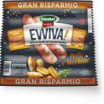 Wurstel Evviva pollo/tacchino 1Kg Amadori senza glutine