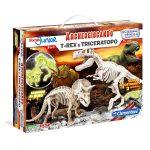 Archeogiocando T-rex & Triceratopo Clementoni