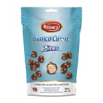 Bites snack al cioccolato al latte con crema al   latte e cereali croccanti 100g Witor's