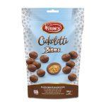 Bites snack ciokolotti, biscottini di ripieni di  cioccolato al latte 100g Witor's