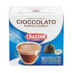 Capsule cioccolata 10pezzi 180g Crastan