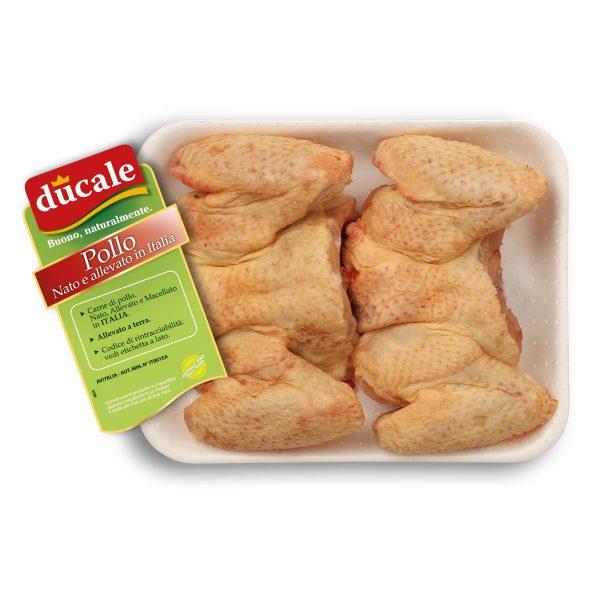Ali di pollo non separate confezione 3 pezzi Ducale