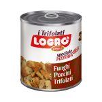 Funghi Porcini Trifolati Premium 800g Logro'