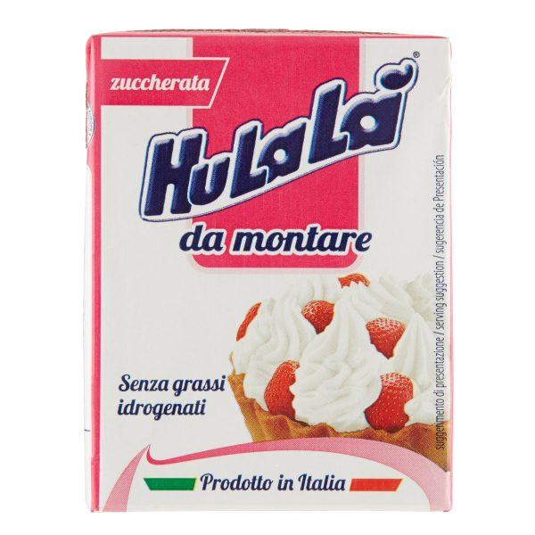 Panna da montare zuccherata 200ml Hulalà