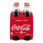 Coca cola 20cl x4 bottiglie vetro