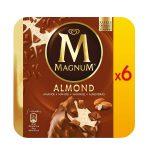 Magnum alla mandorla 6 pezzi 492g Algida