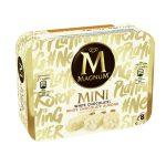 Magnum mini cioccolato bianco/mandorle 8 pezzi    352g