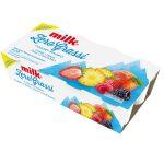 Yogurt Magro Zero Grassi 8x125g fragola/pesca/frutti di bosco/ananas Milk