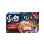 Fish Burger 100% Filetti di Merluzzo d'Alaska 227g Findus