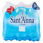 Acqua gasata 1lx6 Sant'Anna