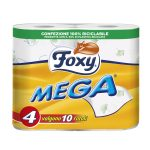 Carta igienica Foxy mega 4 rotoli 2 veli