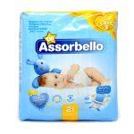 Pannollini dry fit mini 3-6Kg 21 pezzi Assorbello