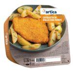 Cotoletta di pollo con patate 300g Artica