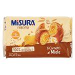 Cornetto fibrextra al miele no olio di palma 300g Misura