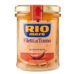 Filetto di tonno olio d'oliva vaso vetro 180g Rio Mare