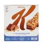 Kellogg's Special K barrette di cioccolato al latte 6x20g