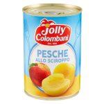 Pesche gialle allo sciroppo 410g Jolly Colombani