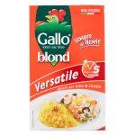 Riso versatile blond veloce 1kg Gallo