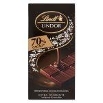 Tavoletta cioccolato extra fondente 70% 100g Lindor