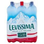 Acqua Levissima frizzante 1,5Lx6