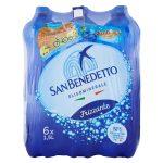 Acqua San Benedetto frizzante 6x1,5l