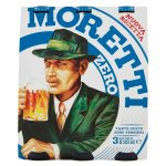 Birra Moretti Zero 3x33cl