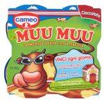 Budino al cioccolato con macchie gusto vaniglia 4x125g Muu Muu Cameo